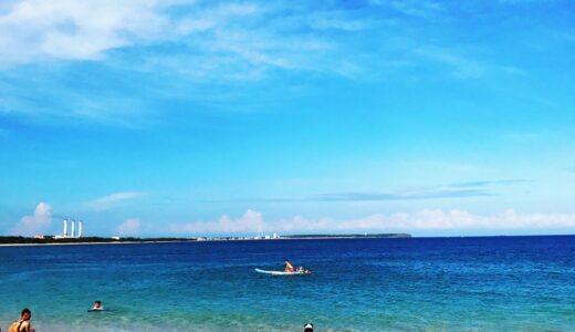 ポンフーで海水浴ができるビーチ(更衣室・シャワー完備)